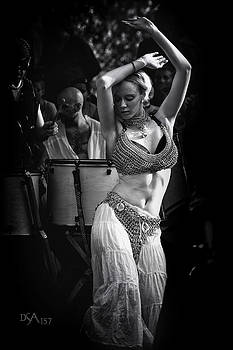 David April - Belly Dancer