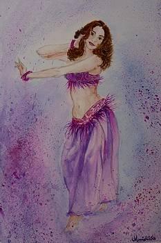 Belly Dancer by Monishikha RoyChoudhury