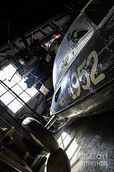Belly Tanker - Old Crow Speed Shop- Metal and Speed by Holly Martin