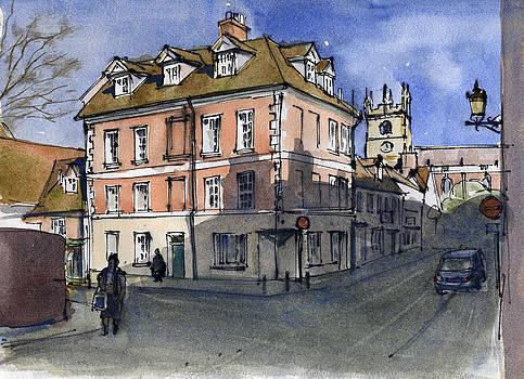 Belmont Street. Shrewsbury by Bakhtiar Umataliev
