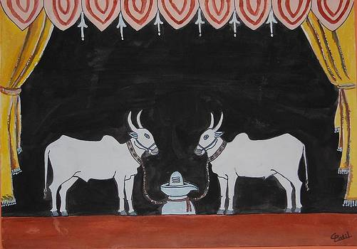 Beloved Bullocks-II by Chandra Patil