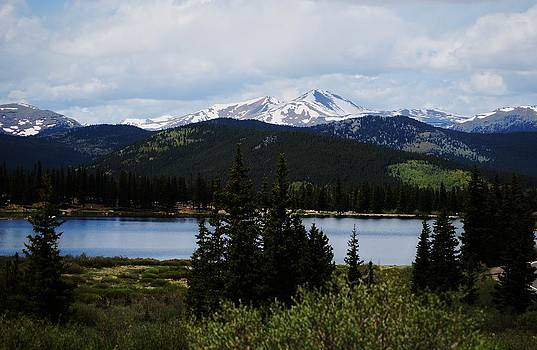 Below Mt Evans by Steven Liveoak