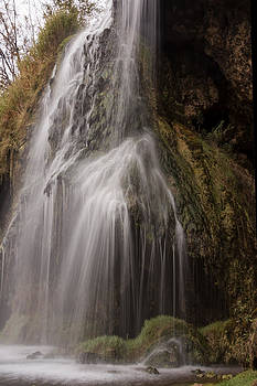 Below Warm Springs Falls by Dana Moyer