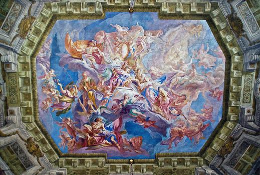 Dennis Cox - Belvedere Palace mural