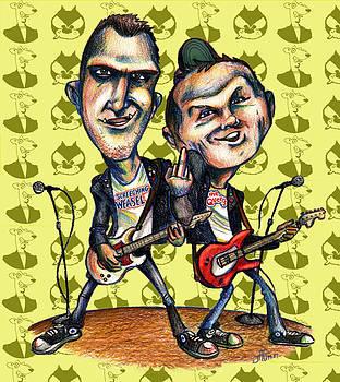 Ben Weasel and Joe Queer by John Ashton Golden