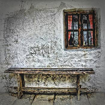 Bench and Window by Angel Eowyn