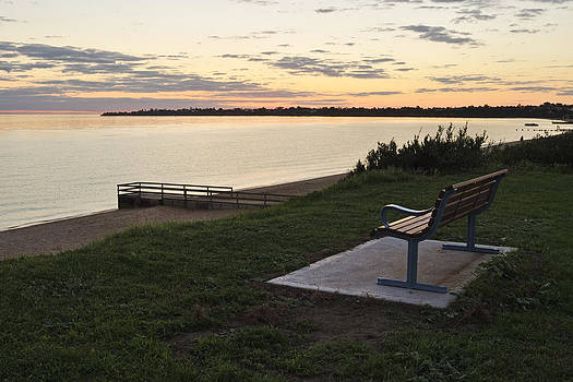 Bench at Port Philip by View Factor Images