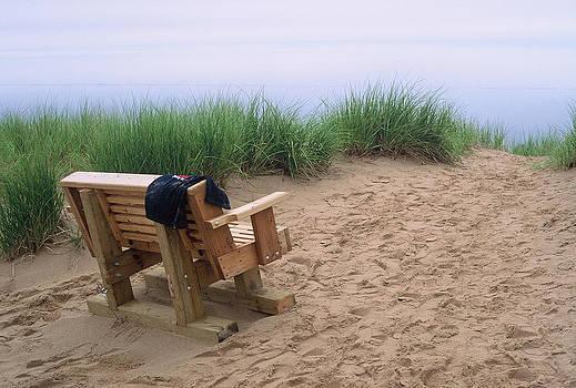 Randy Pollard - Bench at the Beach