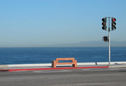 Bench By The Sea by Stuart Hicks