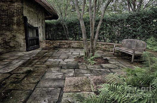 Danny Hooks - Bench in Lush Garden