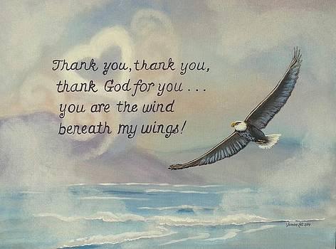 Beneath my Wings by Sandra Lett