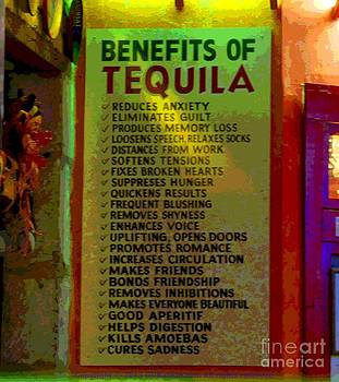 Benefits of Tequila by GD Rankin