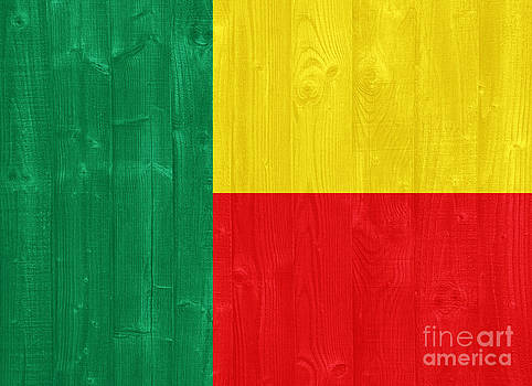 Benin flag by Luis Alvarenga