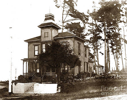 California Views Archives Mr Pat Hathaway Archives - Benjamin J. Langford House is an Italinate  style house Pacific Grove circa 1900