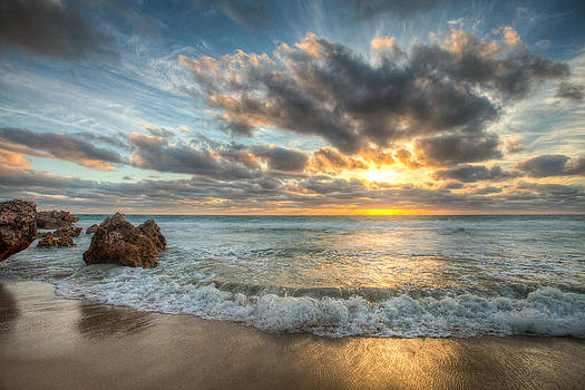 Bennion Beach Sunset by Michael Tingey