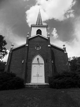 Bentonsport Presbyterian Church  by Mark Kime