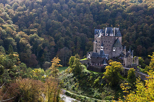 Burg Eltz Castle Rhineland-Palatinate by Russell Todd