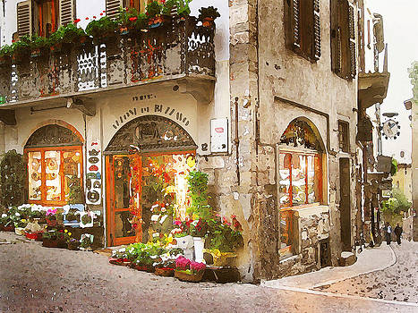 Bergamo Flower Shop by Michael Fahey