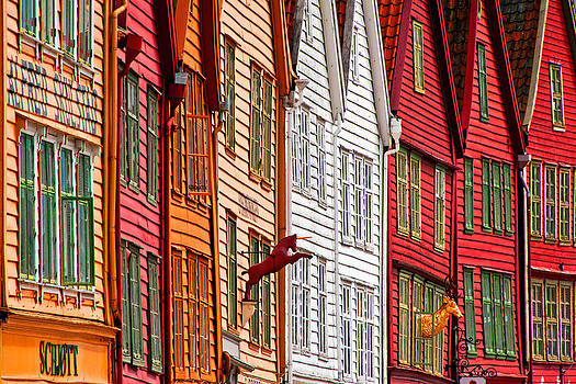 Dennis Cox WorldViews - Bergen facades
