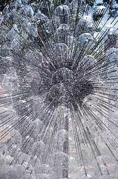 Berger Fountain Close-up by Lonnie Paulson