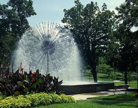 Berger Fountain by Lonnie Paulson