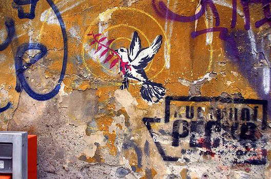 Berlin graffiti by Blaise Pellegrin