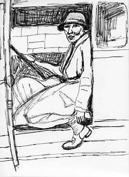 Allen Forrest - Berlin in the 1920s Woman Driver