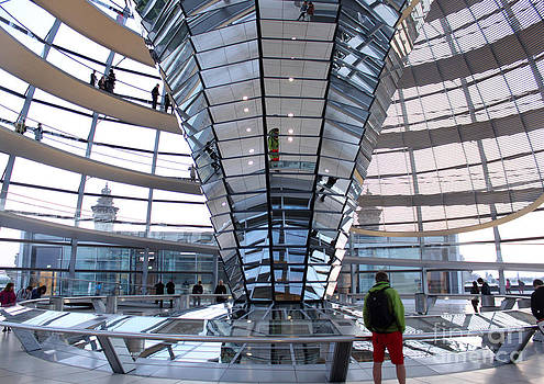 Gregory Dyer - Berlin - Reichstag roof - no.05