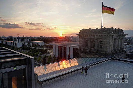 Gregory Dyer - Berlin - Reichstag roof - no.07
