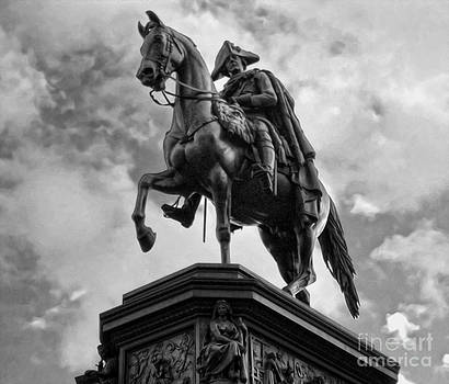 Gregory Dyer - Berlin - Statue of Frederick the Great no.01