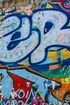 Berlin Wall II by Yvonne Gallagher