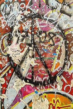 Berlin Wall 3 by Yvonne Gallagher