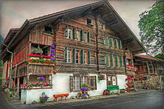 Bernese wooden House by Hanny Heim
