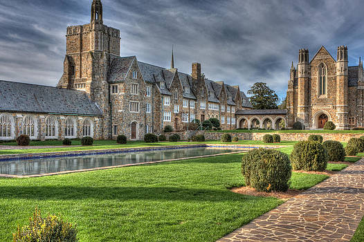 Berry College dormitory with Ford Hall by Gerald Adams