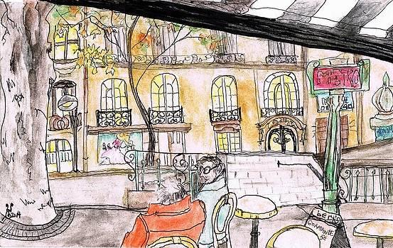 Bert's Place Paris by Yabette Swank