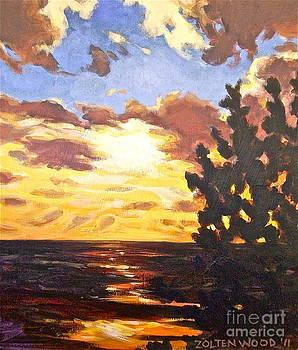 Best Sunset by Linda Zolten Wood