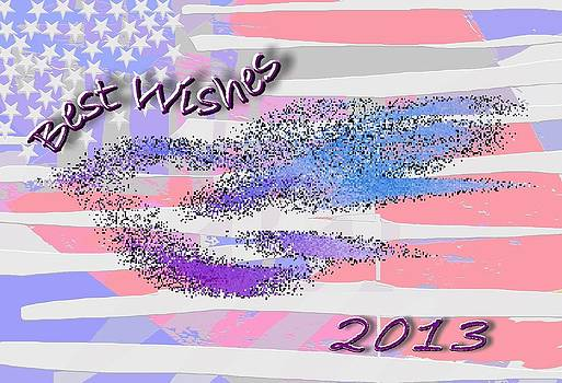 Best Wishes 2013 by Mimo Krouzian