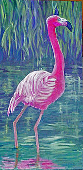 Beta's Flamingo by Harriett Masterson