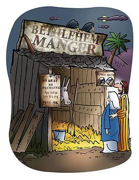 Bethlehem Manger by Mark Armstrong