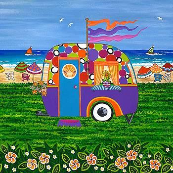 Caravan Holiday Betty-Sue by Lisa Frances Judd