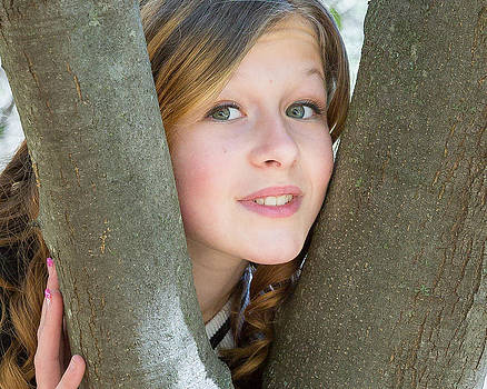 Between the branches by Barbie Baio