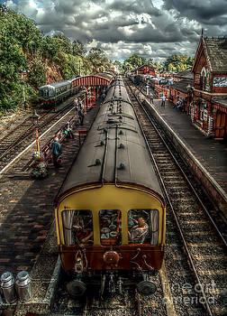 Bewdley station by J A Evans