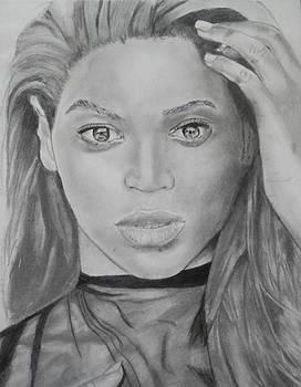 Beyonce by Aaron Balderas