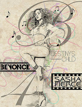 Beyonce by Anibal Diaz