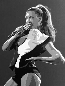 Beyonce by Siobhan Bevans