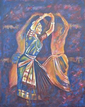 Usha Shantharam - Bharatha Naatayam 3