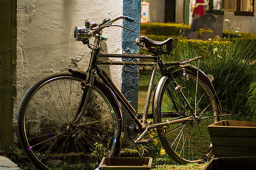 Bicycle At Rest by Floyd Raymer