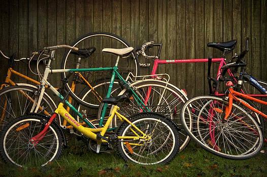 Bicycle Jam by Odd Jeppesen