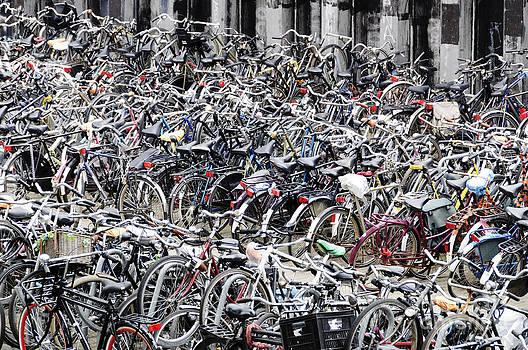 Oscar Gutierrez - Bicycle parking lot