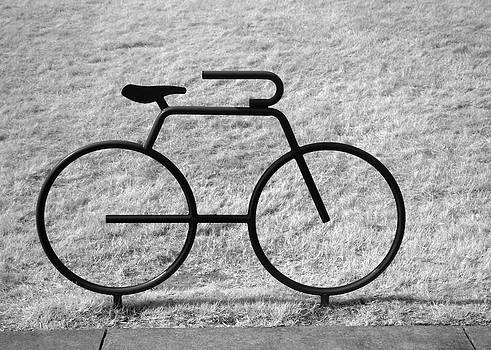 John Cardamone - Bicycle Shaped Bike Rack